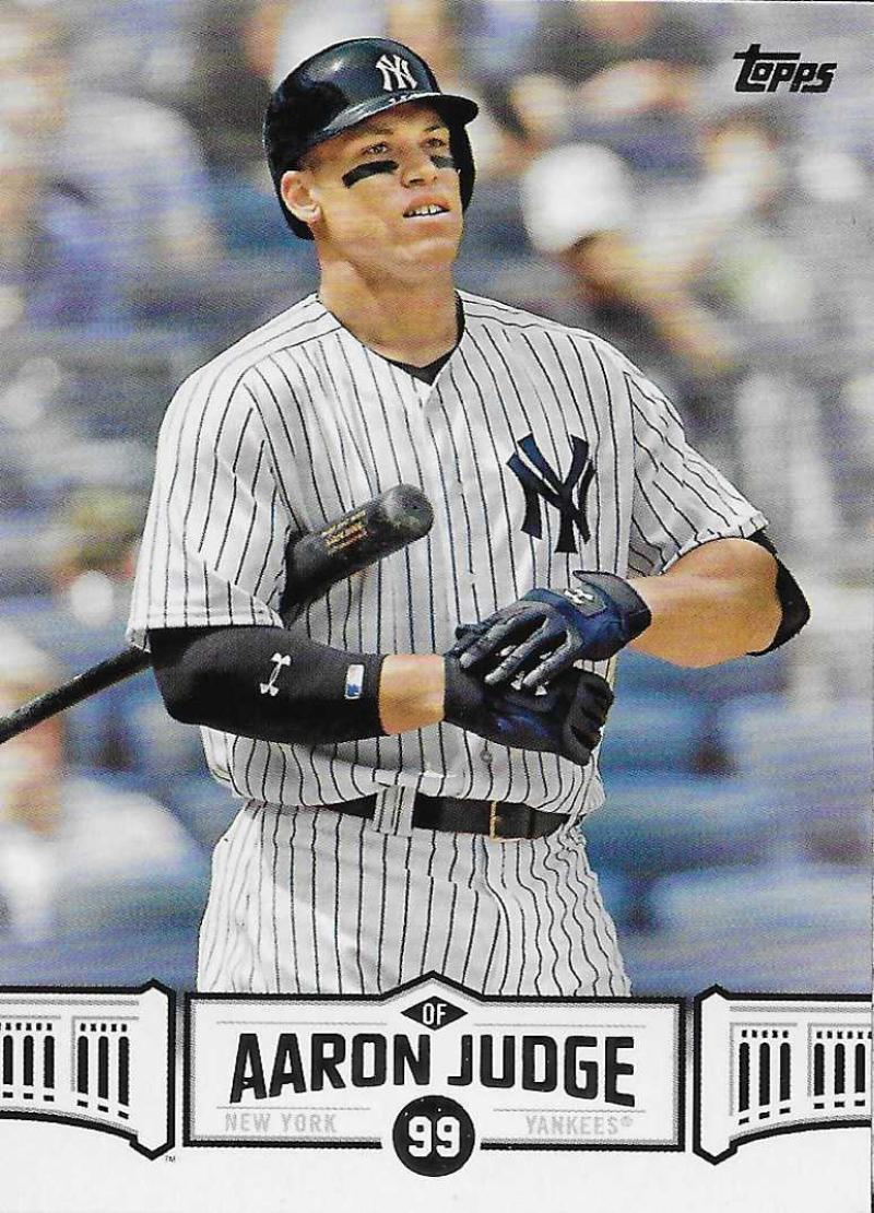 2018 Topps  Aaron Judge Highlights