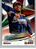 2018 Topps Series Two Future Stars #FS-7 Ozzie Albies Atlanta Braves RC Rookie Card