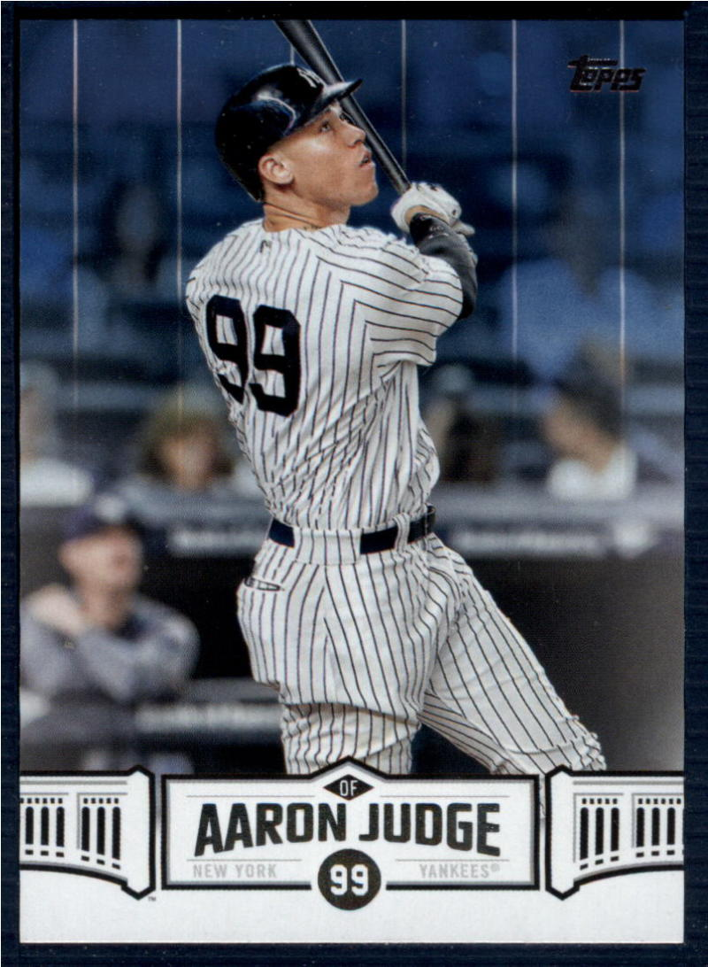 2018 Topps  Aaron Judge Highlights Blue