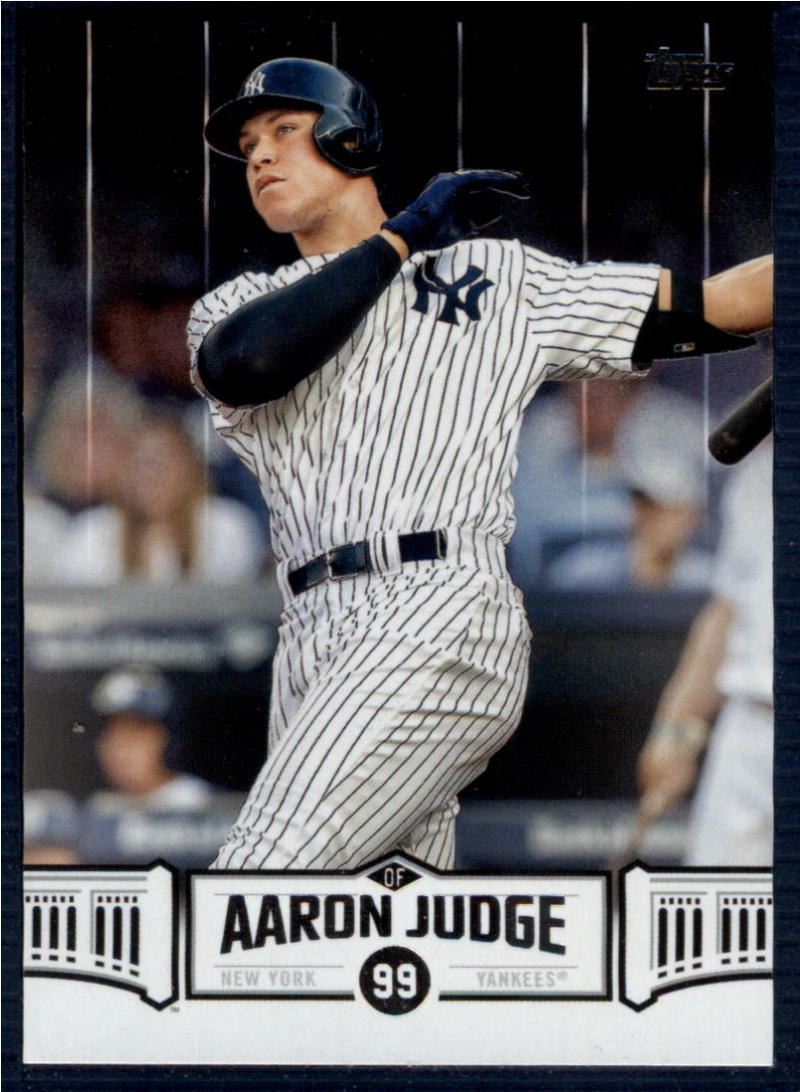 2018 Topps  Aaron Judge Highlights Black
