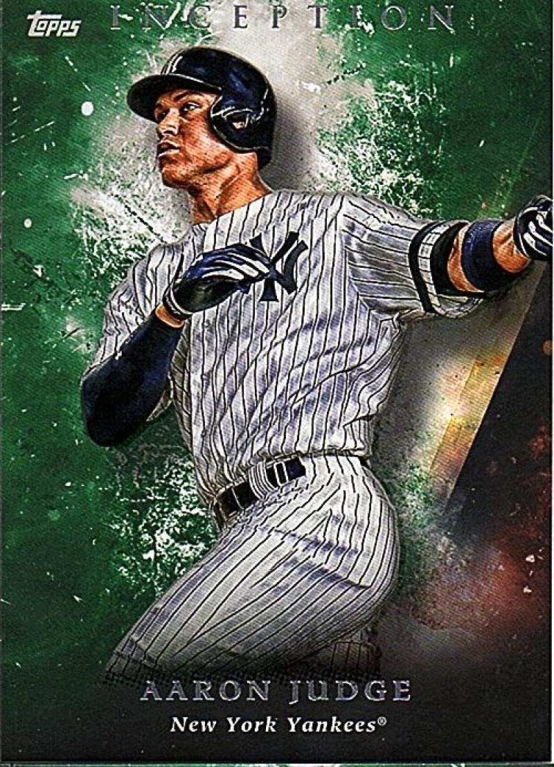 2018 Topps Inception Green