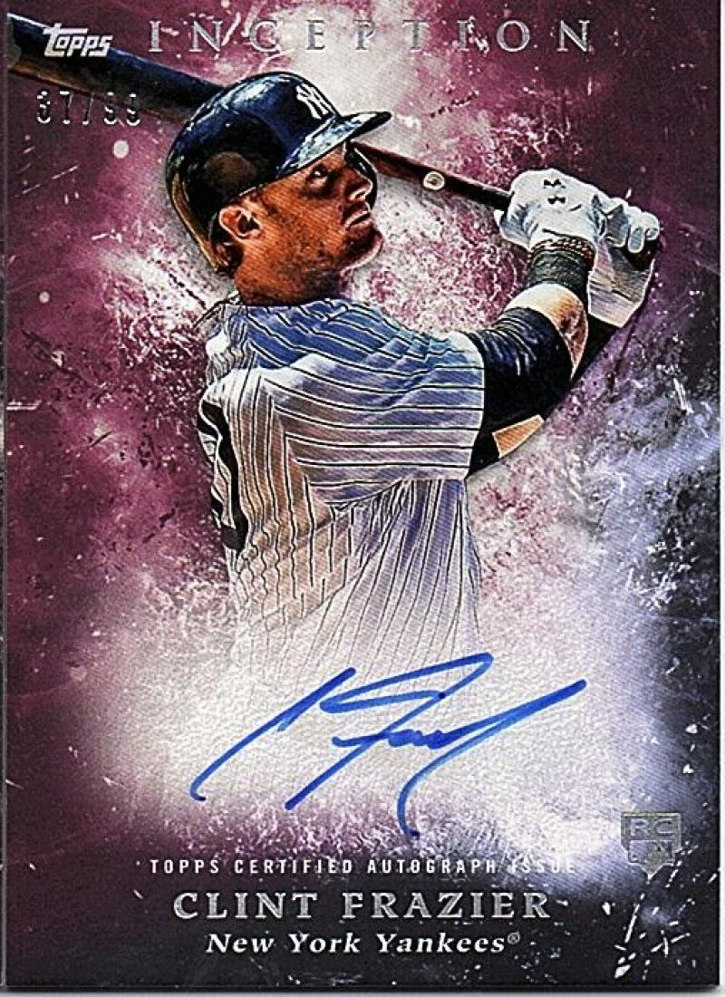 2018 Topps Inception Rookie and Emerging Stars Autographs Magenta
