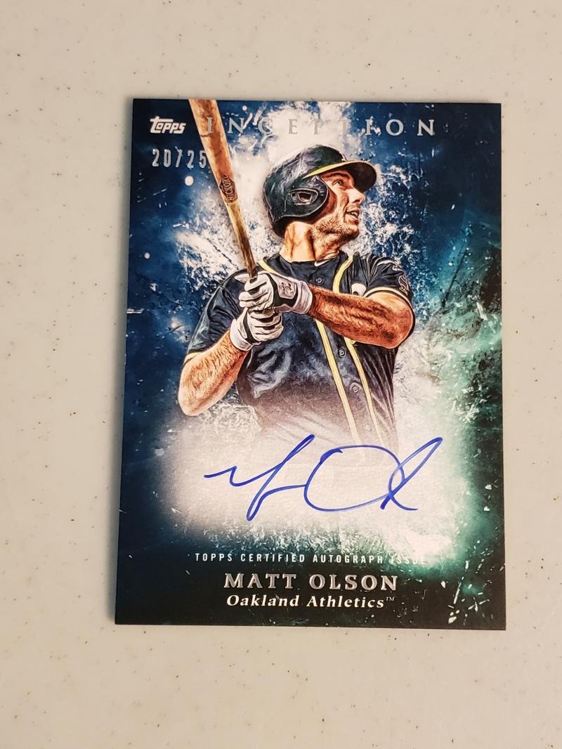 2018 Topps Inception Rookie and Emerging Stars Autographs Blue