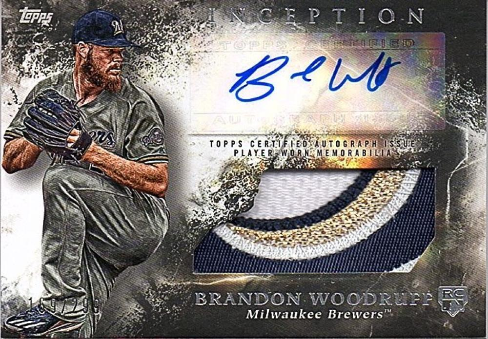 2018 Topps Inception Autographed Patch Relics