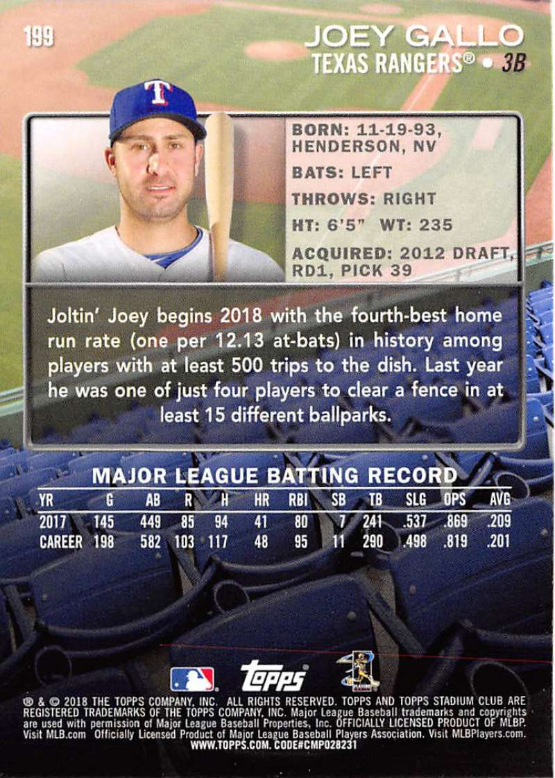 Details About 2018 Topps Stadium Club Baseball Base Set Rc Cards Choose Card S 151 300