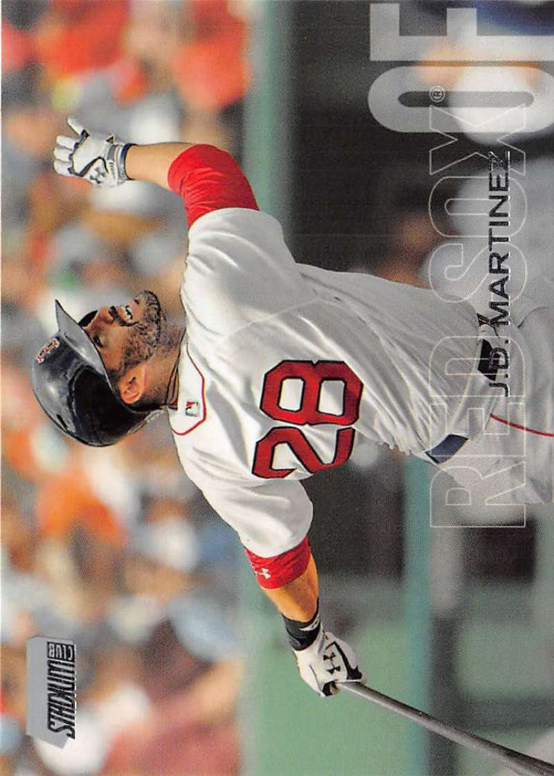 2018 Topps Stadium Club #96 J.D. Martinez NM-MT