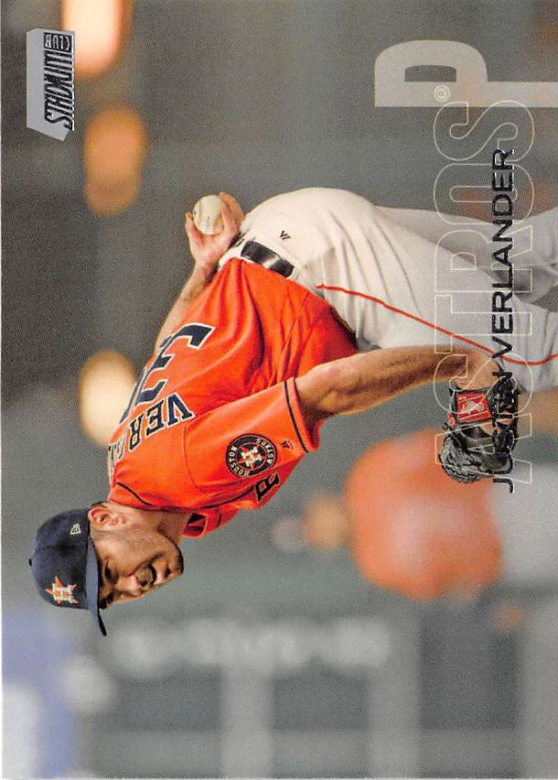 2018 Topps Stadium Club #150 Justin Verlander NM-MT