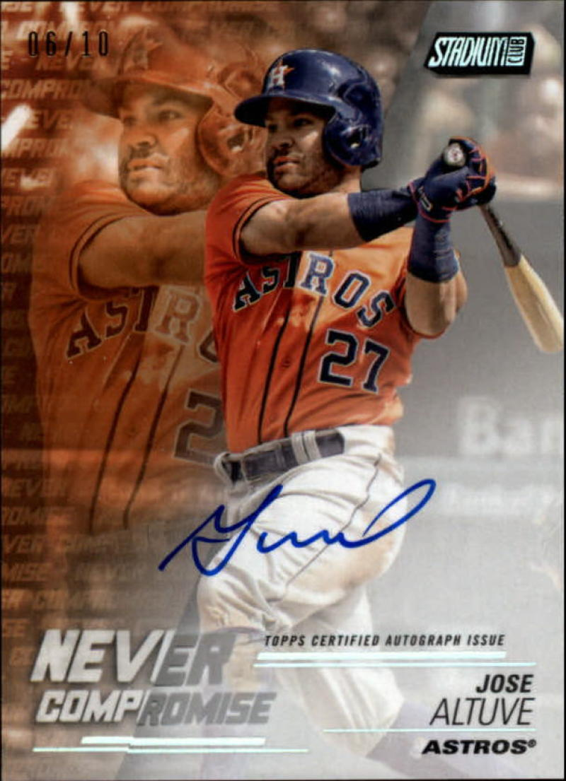 2018 Topps Stadium Club Never Compromise Autographs