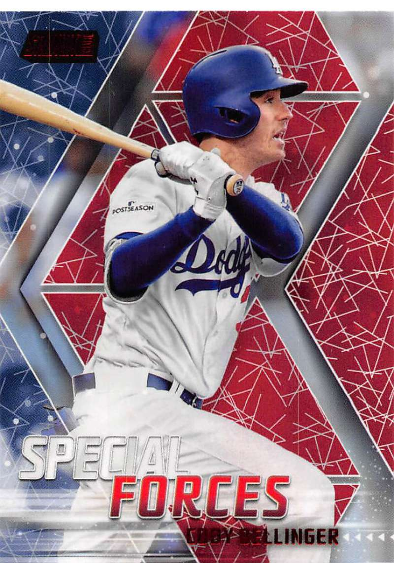 2018 Topps Stadium Club Special Forces Red