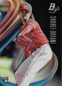 2018 Bowman Platinum Baseball #34 Shohei Ohtani NM-MT RC Rookie Card Los Angeles Angels  Official MLB Trading Card