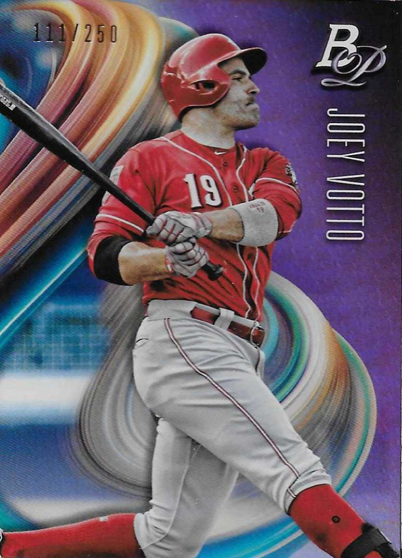 2018 Bowman Platinum Purple