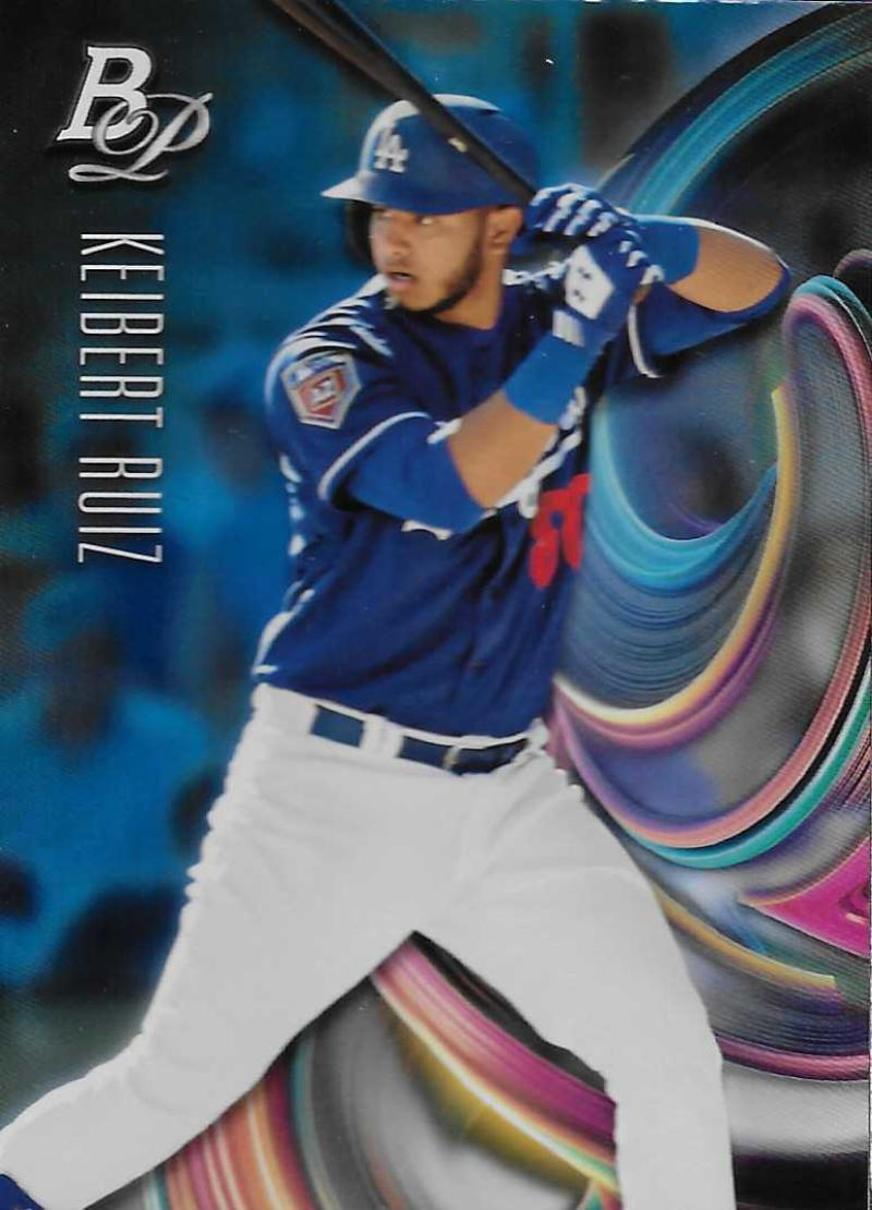2018 Bowman Platinum Top Prospects Sky Blue