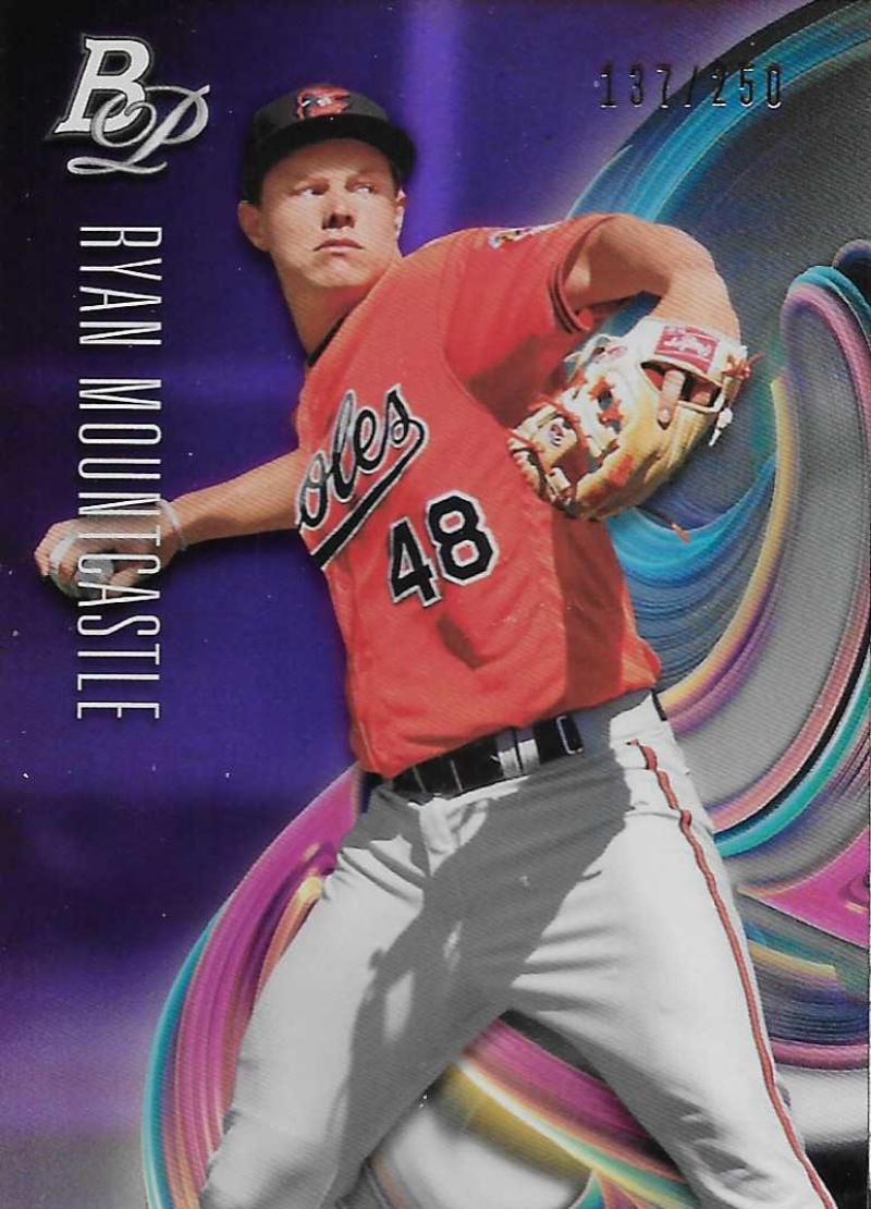 2018 Bowman Platinum Top Prospects Purple