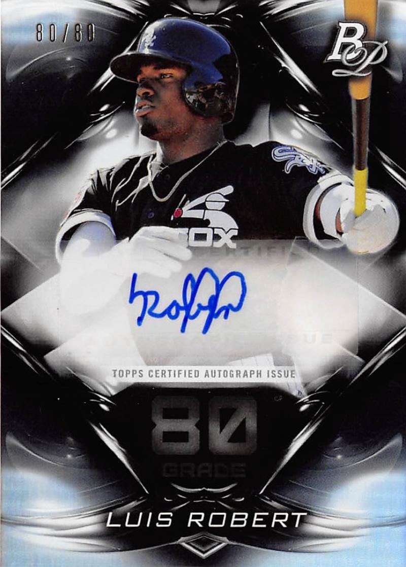 2018 Bowman Platinum 80-Grade Prospect Autographs