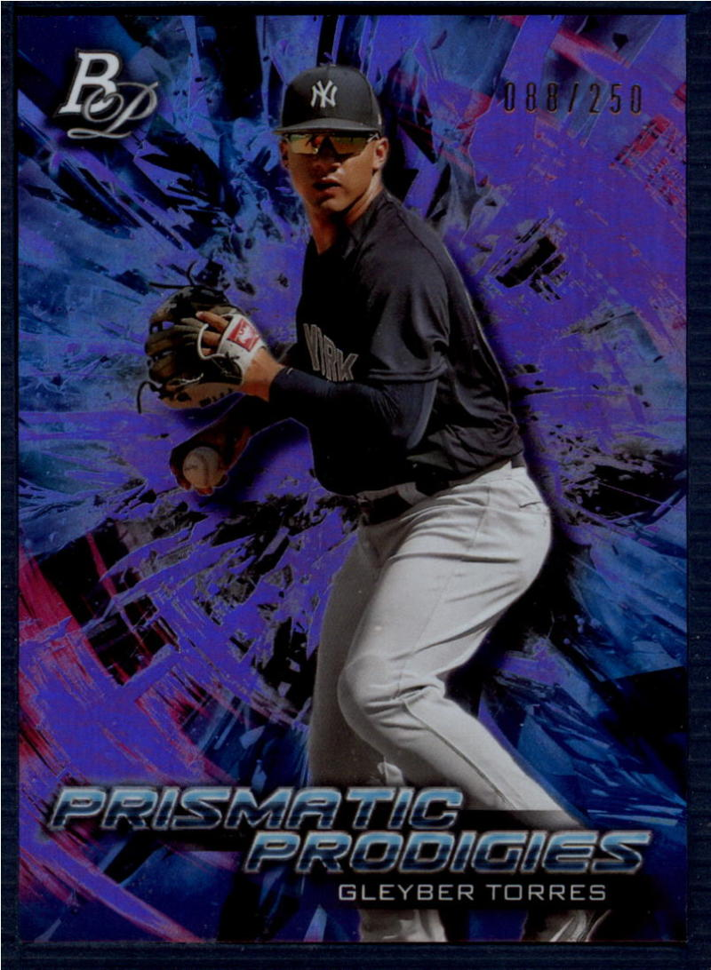 2018 Bowman Platinum Prismatic Prodigies Purple