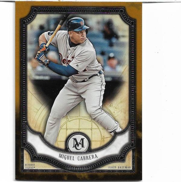 2018 Topps Museum Copper