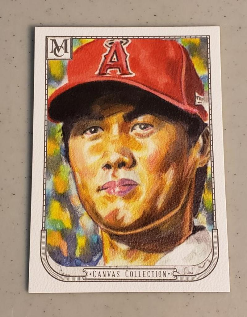 2018 Topps Museum Canvas Collection Reprints