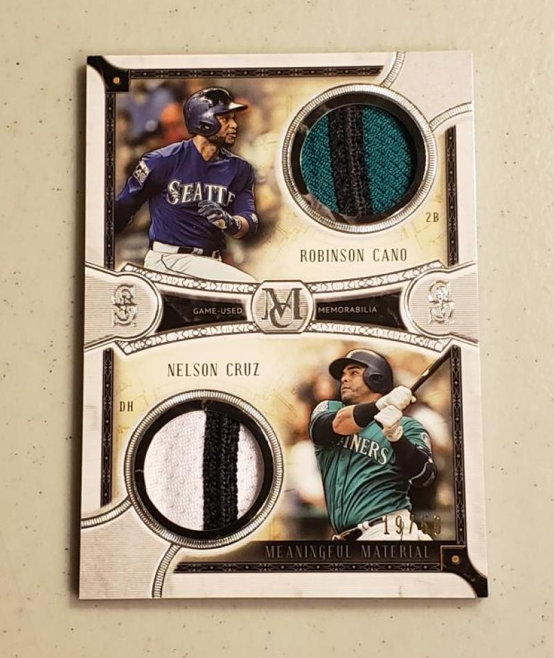 2018 Topps Museum Dual Meaningful Material Patch Relics