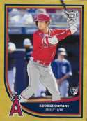 2018 Topps Big League Gold #141 Shohei Ohtani Los Angeles Angels NM-MT