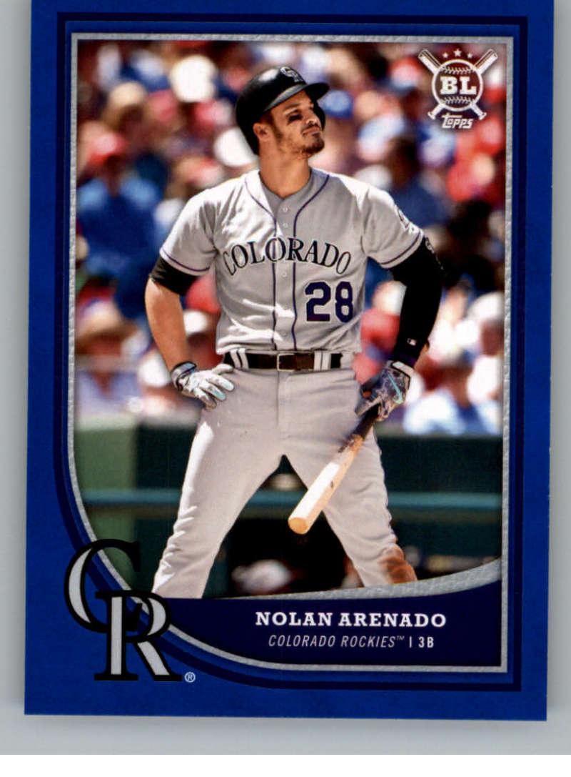 2018 Topps Big League Blue #69 Nolan Arenado NM-MT