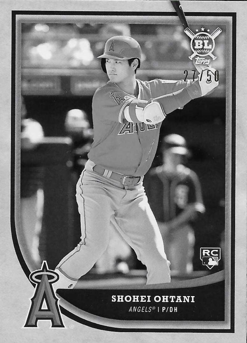 2018 Topps Big League Black and White