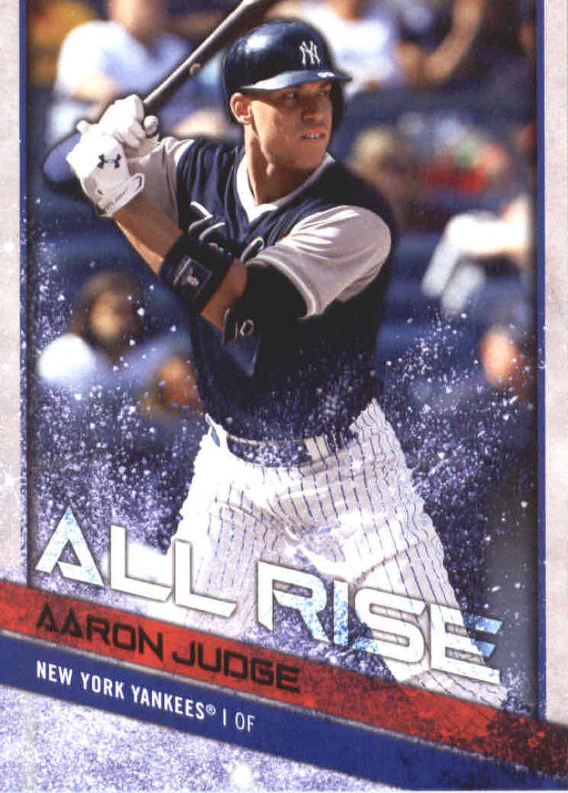 af4918564 2018 Topps Big League Players Weekend Image Variations  1 Aaron Judge. New  York Yankees