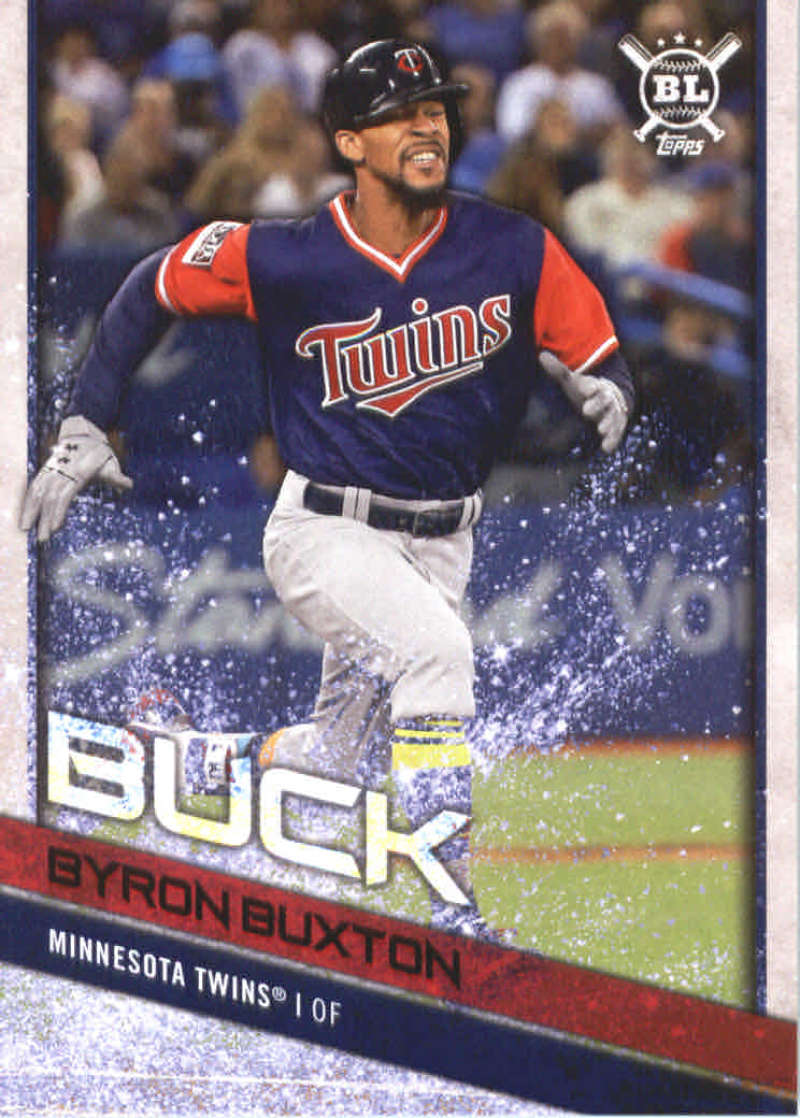 5c8e32e92 2018 Topps Big League Players Weekend Image Variations  38 Byron Buxton. Minnesota  Twins