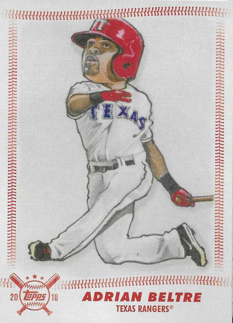 2018 Topps Big League Star Caricature Reproductions