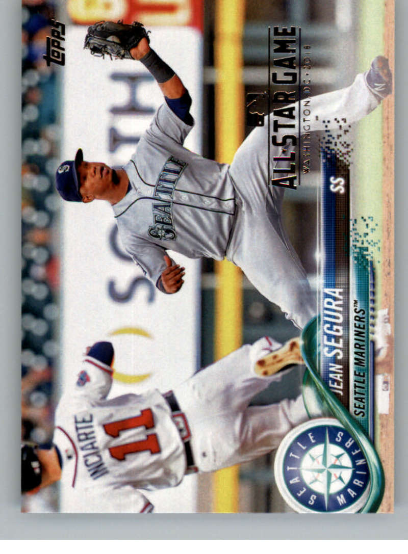 2018 Topps All-Star Edition #144 Jean Segura Seattle Mariners with a ASG Logo RARE