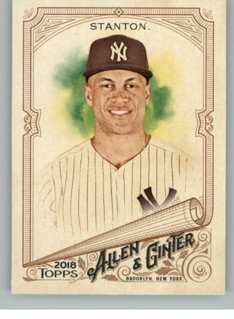 2018 Allen and Ginter #15 Giancarlo Stanton NM-MT