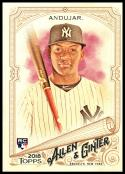 2018 Allen and Ginter #201 Miguel Andujar  RC Rookie