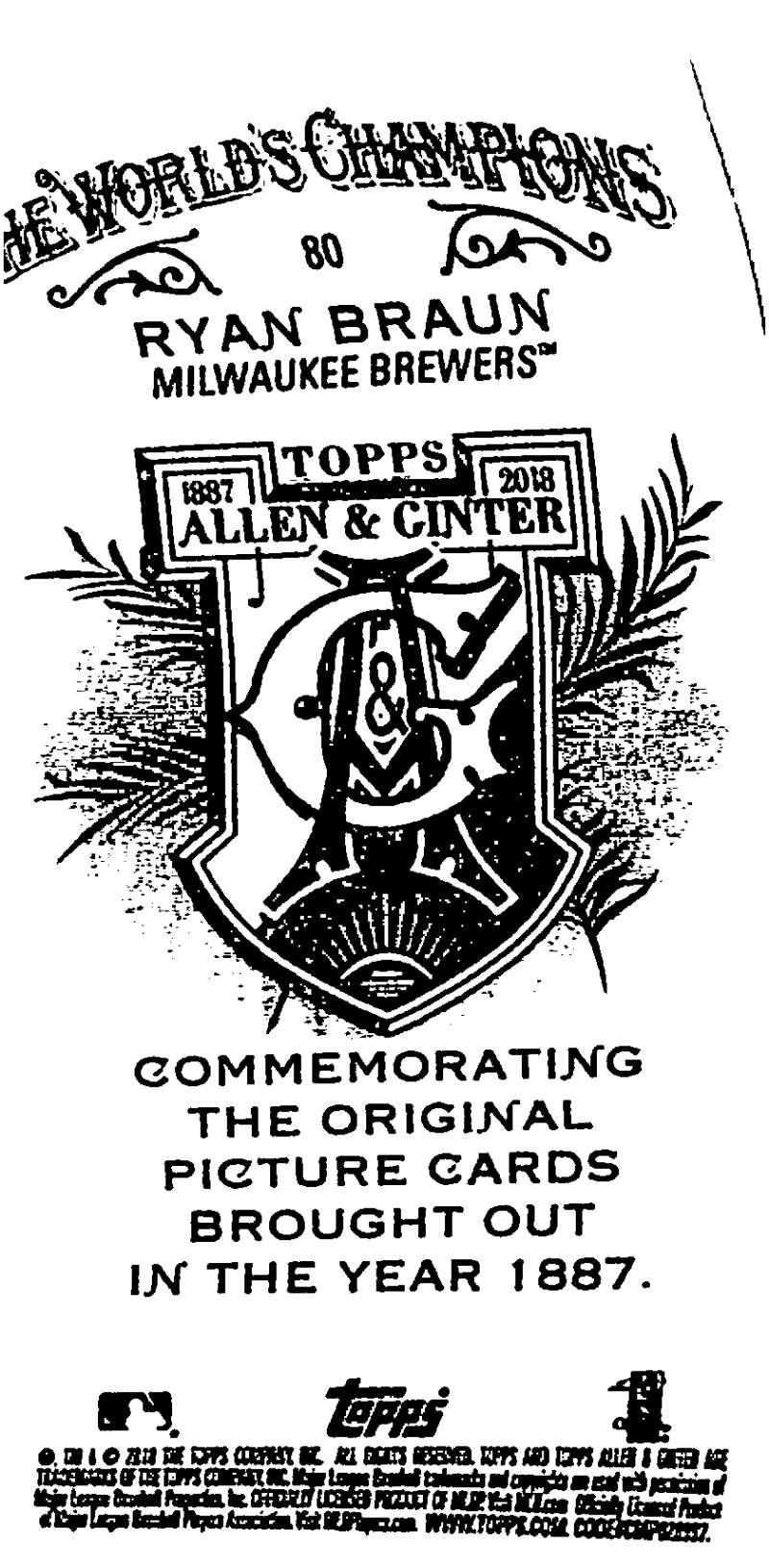 2018-Topps-Allen-and-Ginter-Baseball-Mini-A-amp-G-Logo-Backs-Pick-Your-Cards-Lot thumbnail 11