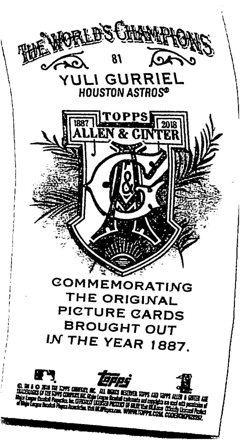 2018-Topps-Allen-and-Ginter-Baseball-Mini-A-amp-G-Logo-Backs-Pick-Your-Cards-Lot thumbnail 13