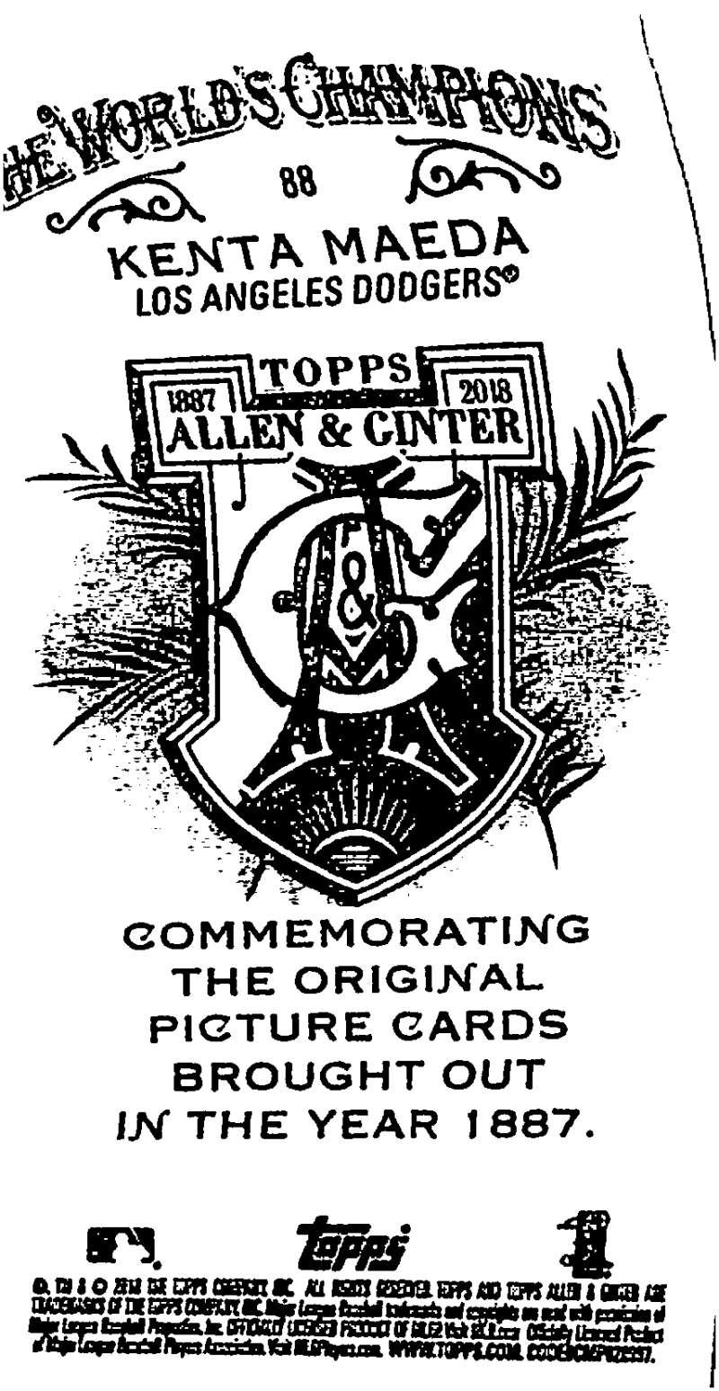 2018-Topps-Allen-and-Ginter-Baseball-Mini-A-amp-G-Logo-Backs-Pick-Your-Cards-Lot thumbnail 15
