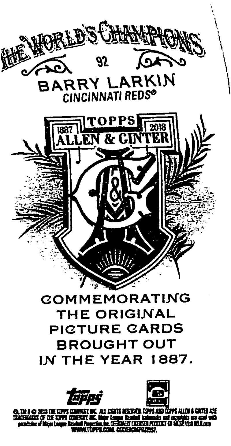 2018-Topps-Allen-and-Ginter-Baseball-Mini-A-amp-G-Logo-Backs-Pick-Your-Cards-Lot thumbnail 17