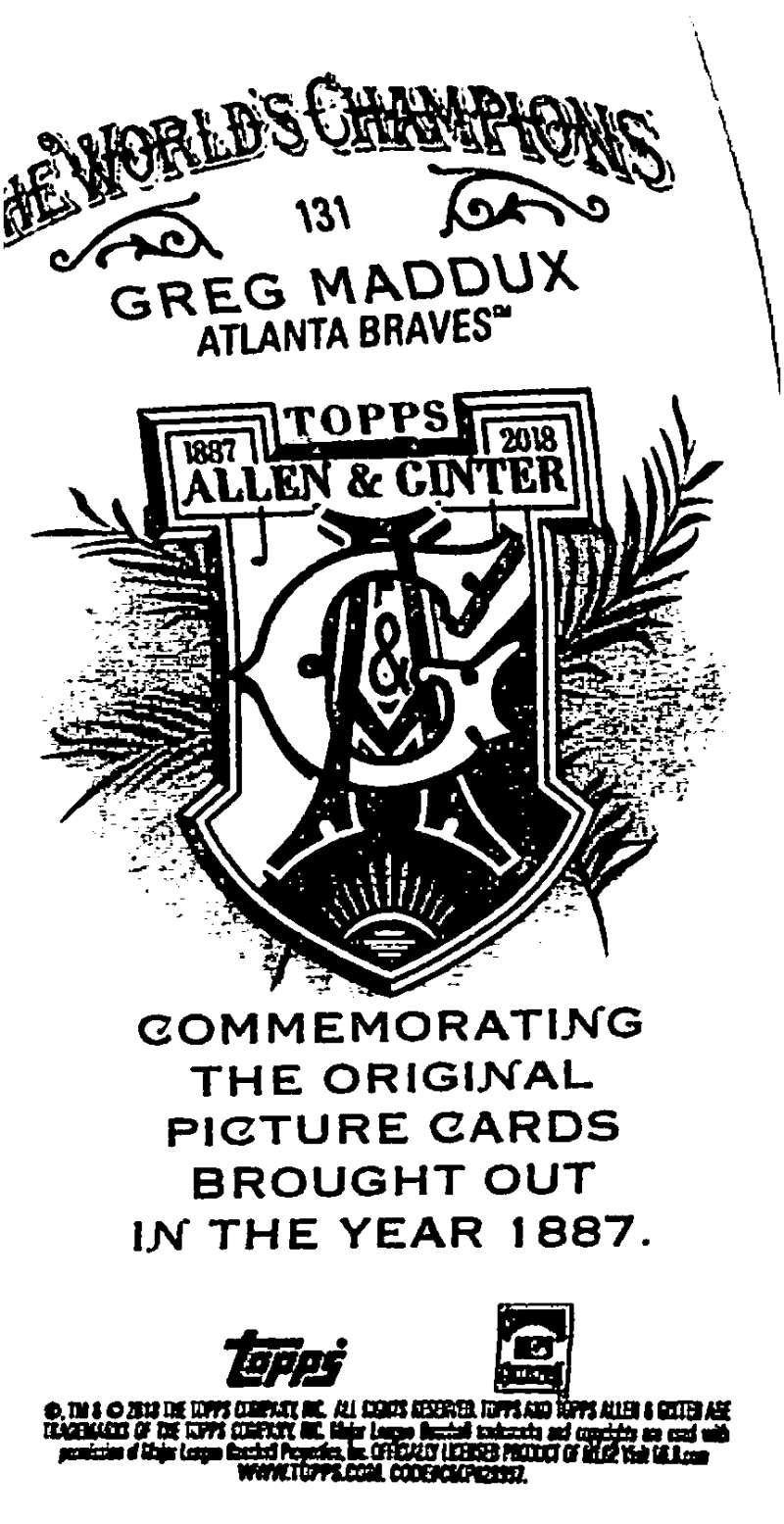 2018-Topps-Allen-and-Ginter-Baseball-Mini-A-amp-G-Logo-Backs-Pick-Your-Cards-Lot thumbnail 25