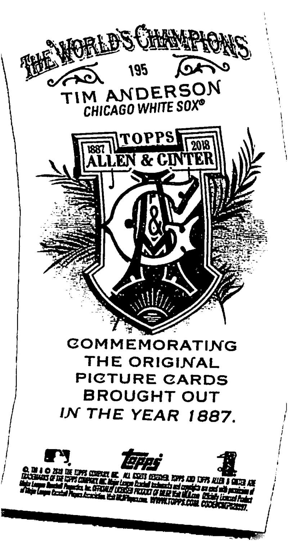 2018-Topps-Allen-and-Ginter-Baseball-Mini-A-amp-G-Logo-Backs-Pick-Your-Cards-Lot thumbnail 33