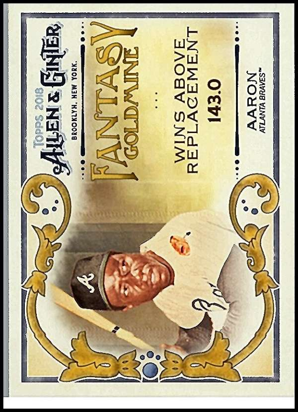 2018 Allen and Ginter  Fantasy Goldmine