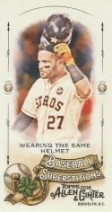 2018 Topps Allen and Ginter Baseball Mini Baseball Superstitions #MBS-3 Wearing the same Helmet Jose Altuve Astros