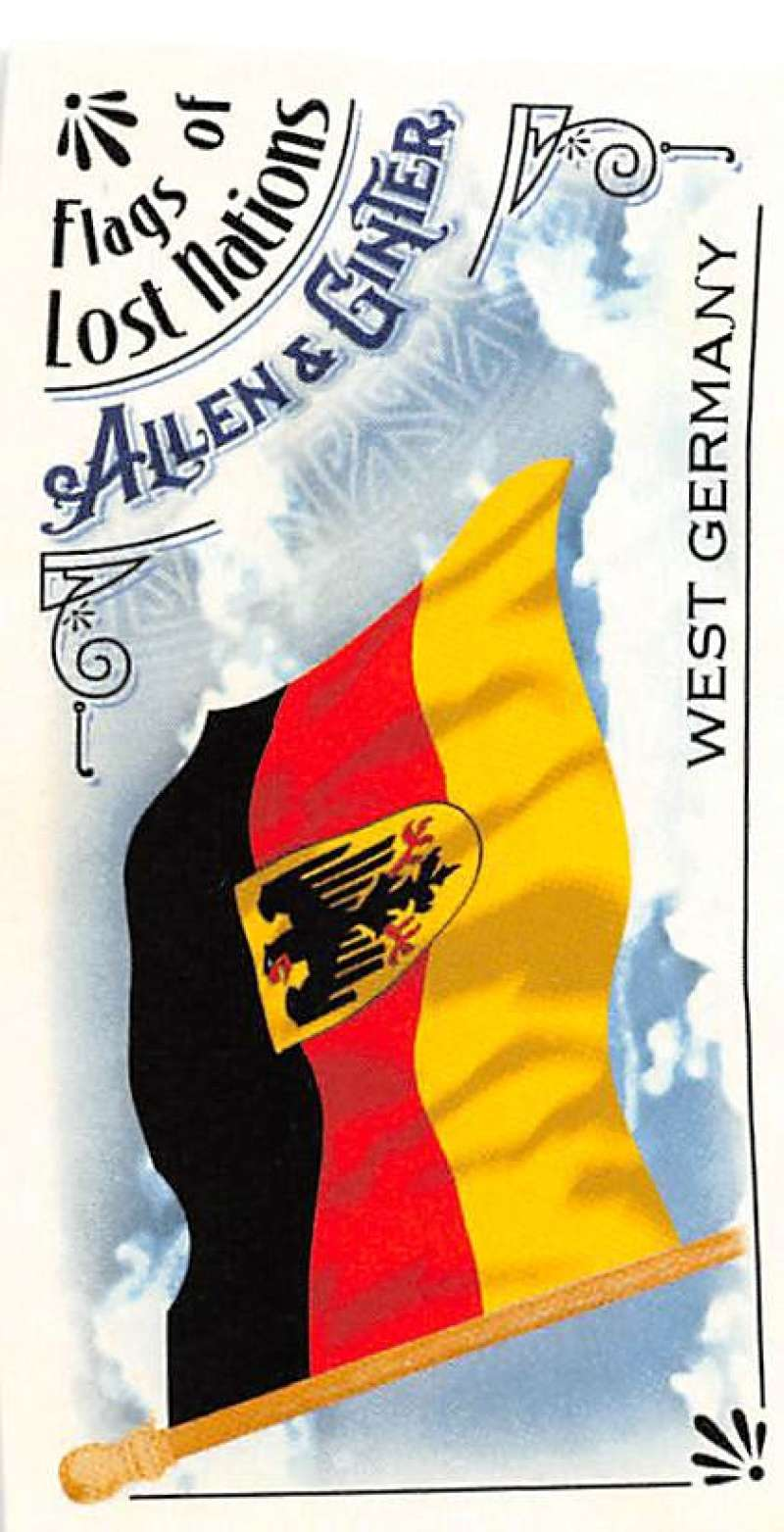 2018 Allen and Ginter  Mini Flags of Lost Nations