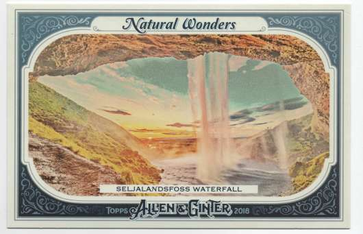 2018 Allen and Ginter  Natural Wonders Box Loaders