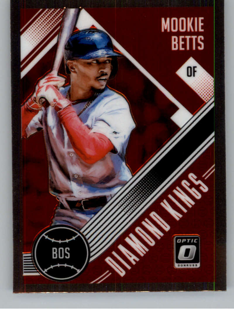 2018 Donruss Optic #27 Mookie Betts Diamond King NM-MT