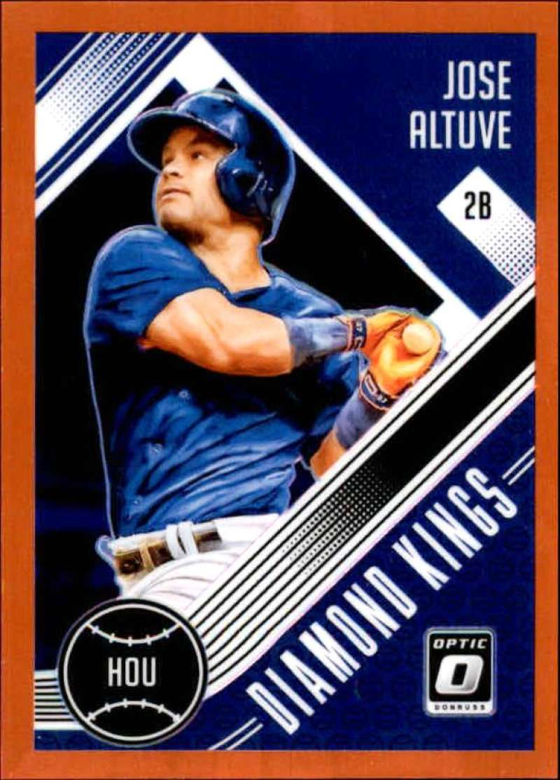 2018 Donruss Optic Orange