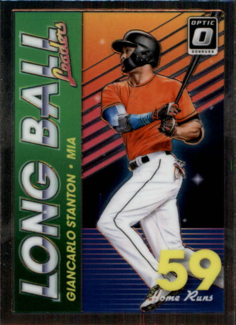 2018 Donruss Optic Long Ball Leaders