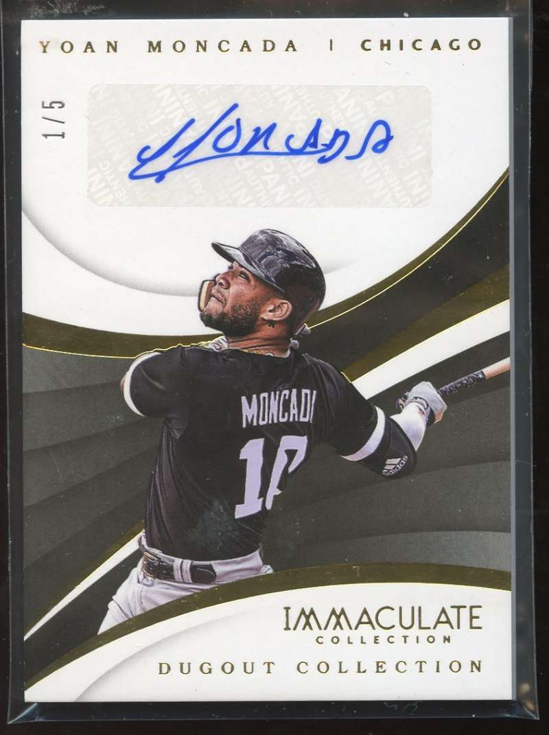 2018 Panini Immaculate Collection Dugout Collection