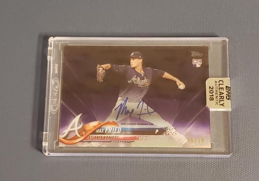2018 Topps Clearly Authentic Autographs Purple