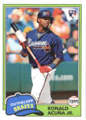 2018 Topps Archives #212 Ronald Acuna Jr. NM-MT RC Rookie Atlanta Braves