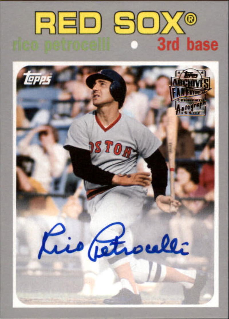 2018 Topps Archives Fan Favorites Autographs Silver