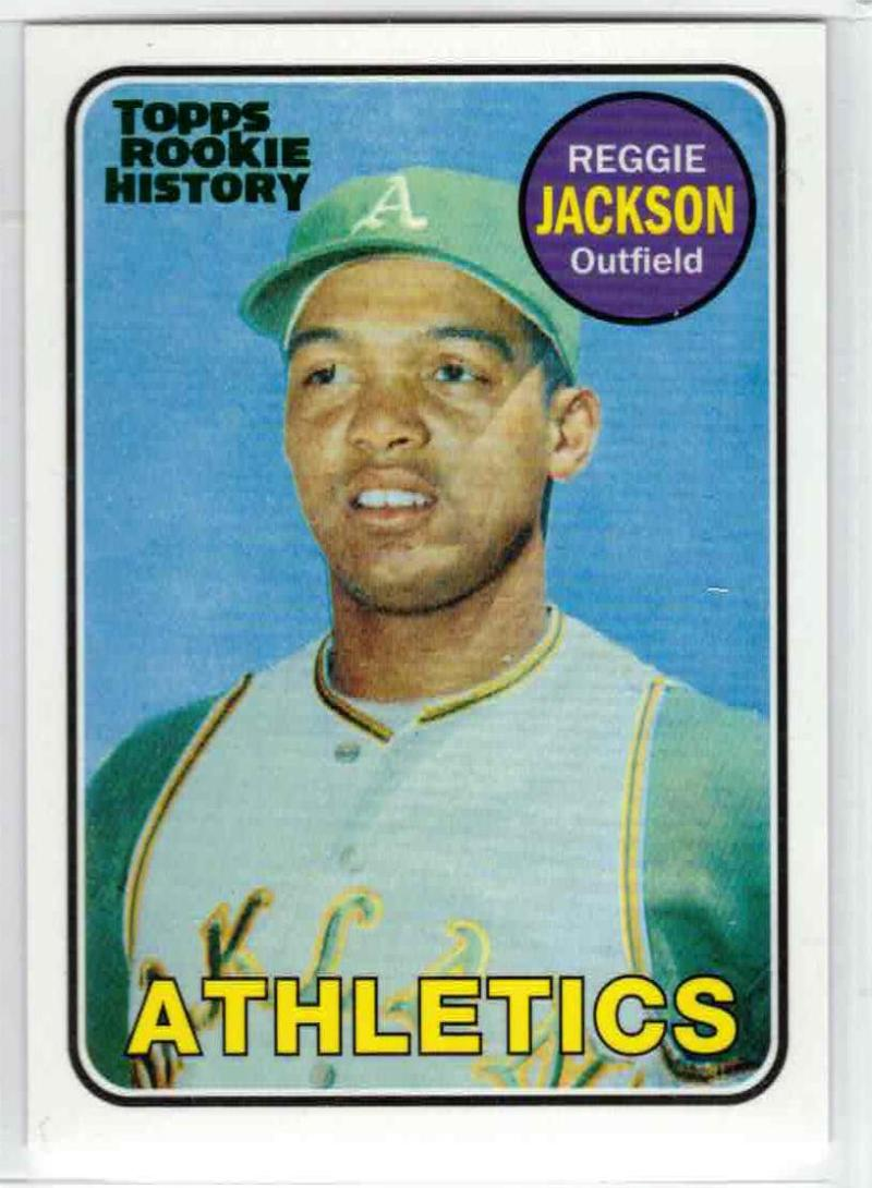 2018 Topps Archives Rookie History Green