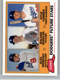 2018 Topps Archives Baseball 1981 Topps Future Stars Trios #FS-LAD Kyle Farmer/Alex Verdugo/Walker Buehler Los Angeles D
